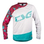 Tsg: Tsg Mj2 Ls Bikeshirt Rd/tq Xl - Click For More Info