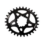 Mrp - Drivetrain: Mrp Wave Ring Gxp Oval 32t Blk - Click For More Info
