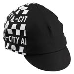 All-city - Parts: Ac Tu Tone Cycling Cap Bk/wh - Click For More Info