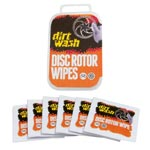 Dirtwash By Weldtite: Dirtwash Disc Rotor Wipes (6) - Click For More Info