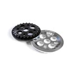 Volume Bmx: Guard Sprocket, 7075 Cnc, Bolt-type, Works With 19mm, 22mm, 24mm -  Click For More Info