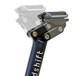 Redshift Sports: Redshift Dp Seatpost 27.2x350 Black - Click For More Info
