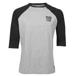 Tsg: Tsg Raglan 3/4 T-shirt Gry/blk Md - Click For More Info